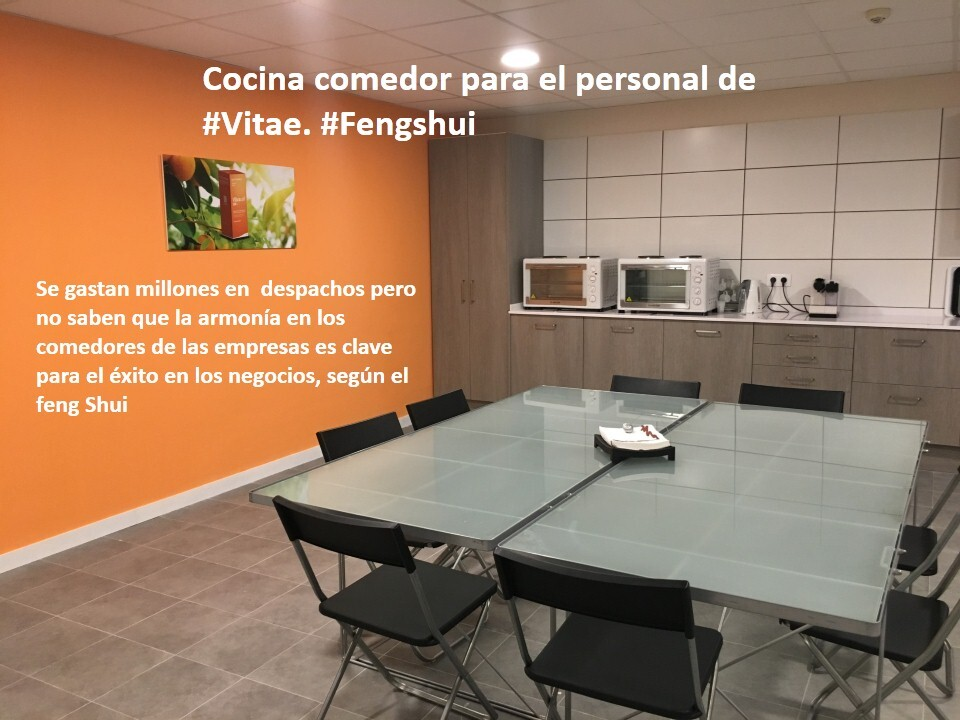 El comedor en la empresa Feng Shui | Feng Shui para Occidente