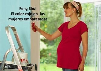 color rojo y embarazadas